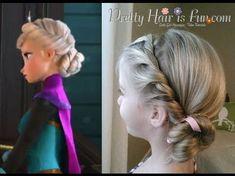 Wonderful DIY Disney Frozen Coronation Hairstyle