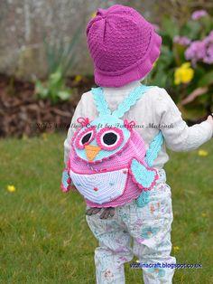 Ravelry: Owl Traveller Backpack pattern by Tatsiana Matsiuk