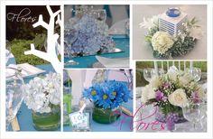 Flores y centros de mesas by Elite Studio