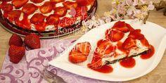 Erdbeer-Stracciatella-Kuchen Low Carb Mit fruchtigem Kuchen in die Erdbeersaison - Low Carb Backrezept mit Video