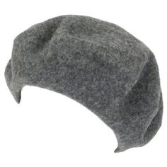 17c1120729e New 100% Wool French Beret Tam Beanie Slouch Hat Cap Heather Gray Medium SK  Hat