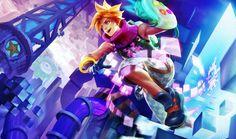 Arcade Ezreal wallpaper