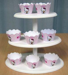 como hacer bandejas para cupcake - Buscar con Google