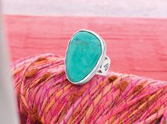 #Tumbled #Turquoise #Ring #Sterling #Silver #Silpada #Jewelry