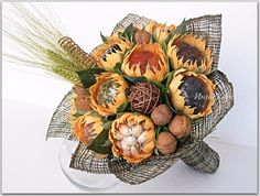(46) Gallery.ru / Фото #134 - Композиционное и оформительское. - creator-cis Food Bouquet, Gift Bouquet, Candy Bouquet, Candy Flowers, Crepe Paper Flowers, Diy Flowers, Vegetable Bouquet, Diy Diwali Decorations, Edible Bouquets