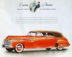 1941 Buick Limited Custom Phaeton by Brunn Coachwork