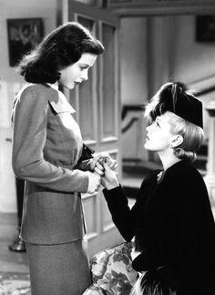 "Hedy Lamarr and Lana Turner in ""Ziegfeld Girl"" (1941)"