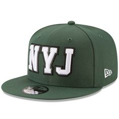 3bddd0af71f New York Jets New Era Home Turf 9FIFTY Adjustable Snapback Hat - Green  NewYorkJets  New