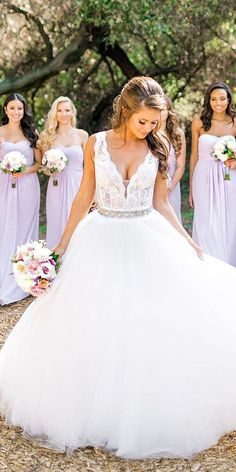 ball gown silhouettes wedding dresses 4