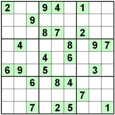 sudoku for kids printable 6x6 - Pesquisa Google | SUDOKU | Pinterest