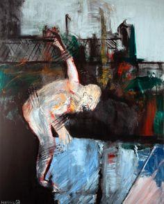 "Overcome 1983 78"" X 62"" oil on canvas #art #artist #artlife #artwork #artworld #artoftheday #artistoftheday #creativity #contemporaryart #drawing #expressionism #fineart #figurative #instaart #imagination #inspiration #instagramart #instaartoftheday..."
