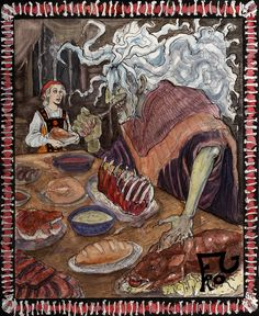 Baba Yaga Feeds by spastic-frog on deviantART