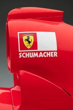 "itsbrucemclaren: ""——- Legend —- Michael Schumacher's Ferrari ———– "" Grand Prix, Michael Schumacher, Ferrari F1, Ferrari Logo, Ferrari Racing, Supercars, Gp F1, Formula 1 Car, F1 Drivers"