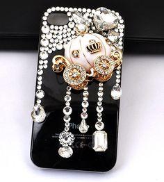 Handmade Iphone Case Cover Cinderella Pumpkin Driver ②