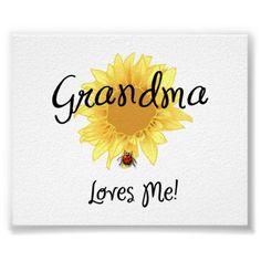 Grandma Loves Me - Yes I do!!