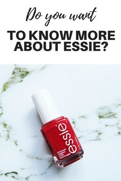 Do you love painting your nails? This DIY is easy to do and the color is really beautiful. A nail polish from Essie will definitely make your nails.