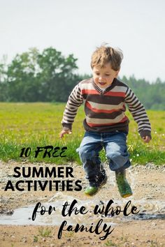 Free summer activities for kids that will keep the whole family engaged. Local summer activities, crafting projects, and family friendly entertainment. Budget friendly summer activities for kids of all ages. Time Activities, Summer Activities For Kids, Family Activities, Learning Activities, Fitness Activities, Free Summer, Summer Fun, Summer Crafts, Christian Parenting