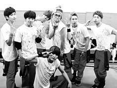 Block B Kyung, Zico, B-Bomb, U-Kwon, P.O, Taeil, Jaehyo