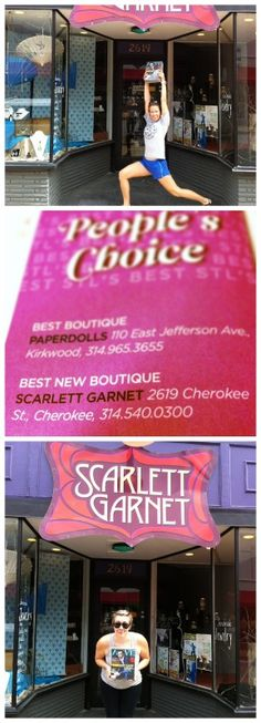 The Alive Magazine Delivery Ladies were really excited to drop off Junes issue that lists Scarlett Garnet Jewelry as the Peoples Choice for BEST NEW BOUTIQUE!  @alivemagstl #peopleschoice #bestboutique