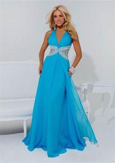 Cool sky blue dress 2018