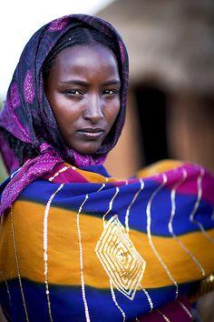 Wife of a Borana chief - Ethiopia