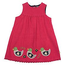 Buy Frugi Baby Cord Duck Dress, Multi from our Baby & Toddler Dresses & Skirts range at John Lewis & Partners. Toddler Dress, Toddler Outfits, Baby Dress, Girl Outfits, Cute Cardigans, Girls Dresses, Summer Dresses, Applique Dress, Newborn Outfits