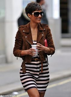 Love this hair cut and that jacket