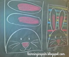 Learning in Spain: Easter bunnies and addition rainbows