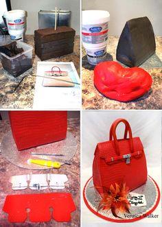 Hermes 3D Bag Step-by-step by Verusca.deviantart.com