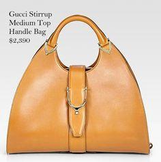 Gucci Stirrup Medium Top Handle Bag