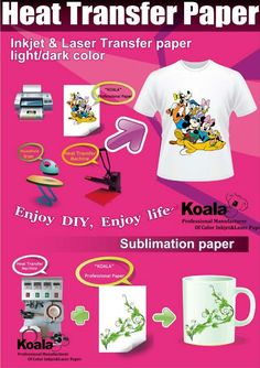 Using Heat Transfer Paper - General Guidelines
