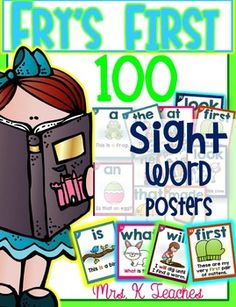 SIGHT WORD SENTENCE CARDS-These posters are original items found in Mrs. Ks store. This  resource is invaluable and provides an effective way for students to read sight words in context. In addition, students are exposed to additional vocabulary words.