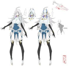 Kerria Sheet by MadiBlitz - - Best Character Designs 2019 Character Model Sheet, Female Character Design, Character Creation, Character Design References, Character Design Inspiration, Game Character, Character Concept, Fantasy Characters, Female Characters