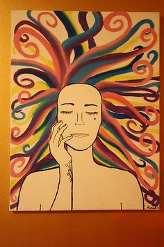 """""""Silence in Color"""" Original Oil Painting on 18""""x24"""" canvas. ONE OF A KIND! $90.00"""