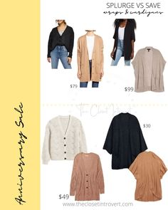 cozy chunk y fall knits and cardigans ruanas on a budget and neutral Hot Tickets, Nordstrom Sale, Barefoot Dreams, Wrap Cardigan, Cardigans, Sweaters, Look Alike, Anniversary Sale, Dupes