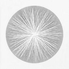 ●●●●●●●●●● ●●●●●●●●●● ● Drawing by Cyril Galmiche #circle #line #drawing #circular #round #geometry #dessin #screenprinting #minimalism #worksonpaper #Handmade #Bw #Blackandwhite #circular