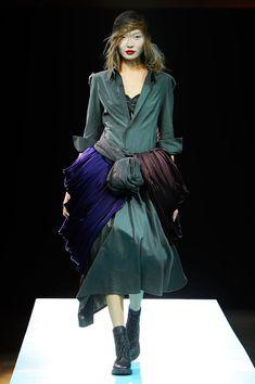 Yohji Yamamoto - one of my all-time fave designers.