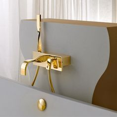 Ritmonio Nastro deck mounted bath mixer - Google Search
