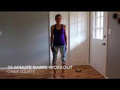 Need a workout to do at home? Try this barre workout!