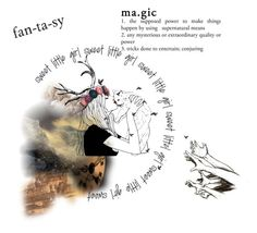 """""""Fantasy"""" by mondsterker ❤ liked on Polyvore featuring art"""