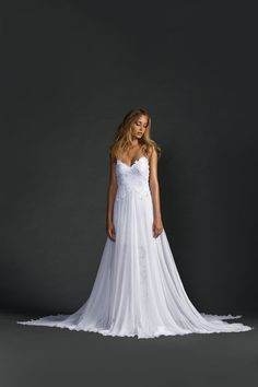 Hollie Dress.The 'Hollie' wedding dress by Grace Loves Lace has officially reached cult level, not only has it been sold 2000 times, but it's received over 2.5 million pins on Pinterest making it the most pinned wedding dress ever!  And when you can see you'll know why...#countryweddings