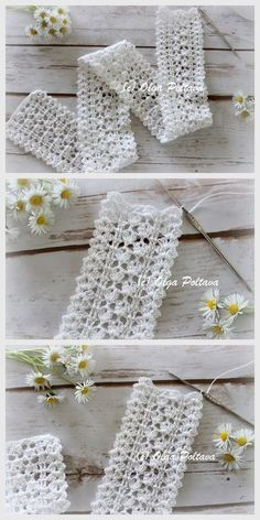 Shabby chic lace edging, free crochet pattern by Olga Poltava