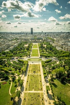 Champ de Mars Paris France