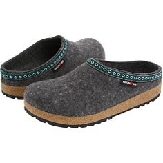 haflinger wool clogs - had these from 8th to junior year of college. even walked the line in them!! haha...