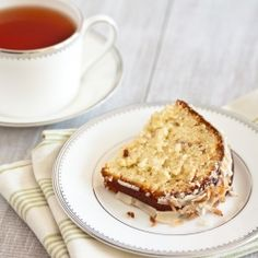 Coconut Lime Tea Cake