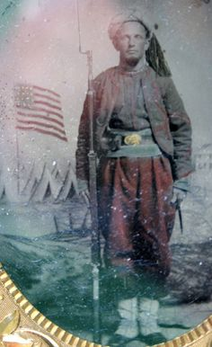 The Zouave Uniform worn by Thomas M. Hoyle - Corporal, Company E, 114 PA Infantry - Present and on duty at Gettysburg, July 1863 Old Person, Unknown Soldier, Union Army, War Image, Civil War Photos, July 1, Gettysburg, American Civil War, Pennsylvania