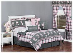 Browning Buckmark Plaid Collection Comforter Set | Bass Pro Shops