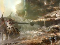 Star Wars - Republic Commando - Geonosis Colosseum