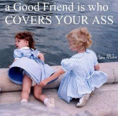 I'm blessed to have a bunch of these types of friends #goodfriends #loyalty #truestory #guardianangels #eyesbehindmyhead