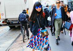 British fashion blogger Susanna Lau of Style Bubble
